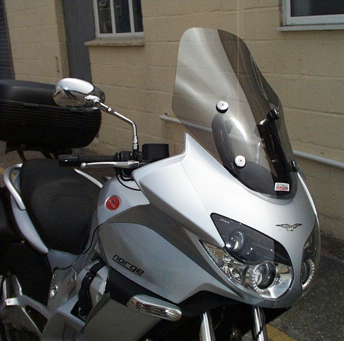 norge 1200 windshield