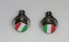 italian flag license plate bolts