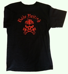 ride british t shirt